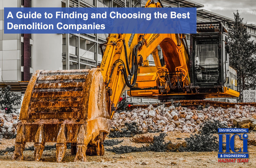 A Guide to Finding and Choosing the Best Demolition Companies