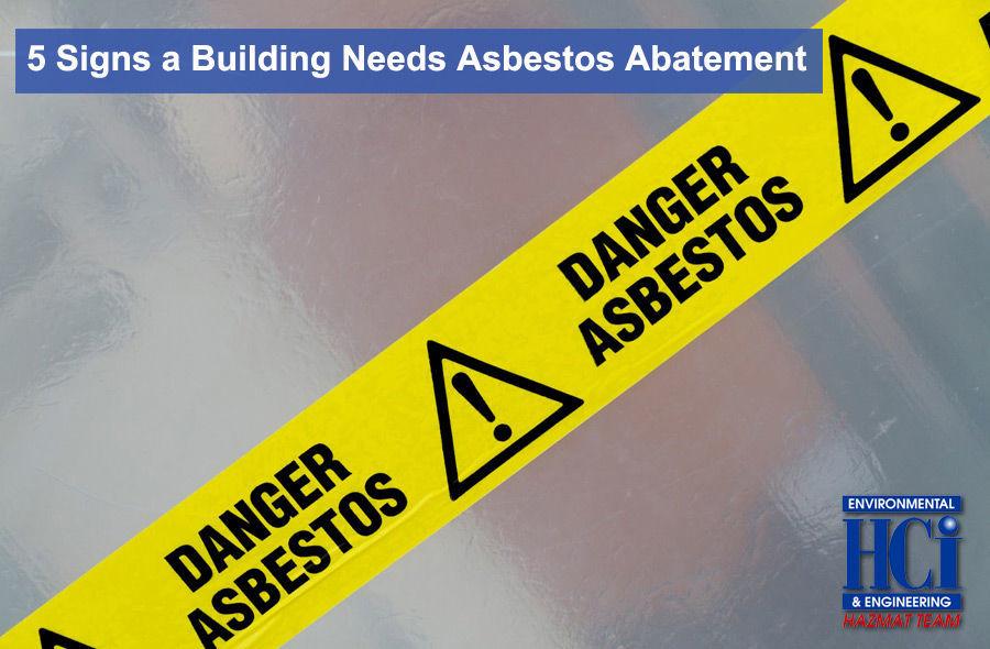 5 Signs a Building Needs Asbestos Abatement